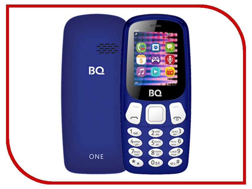 Сотовый телефон BQ BQ-1844 One Dark-Blue сотовый