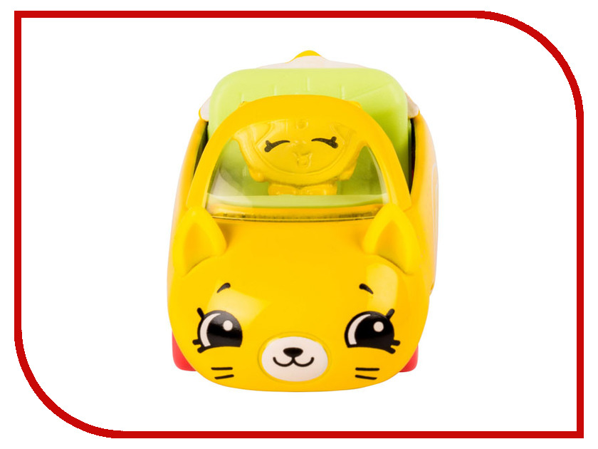Игрушка Moose Shopkins Cutie Cars с фигуркой Lemon Limo 56587 цена 2017
