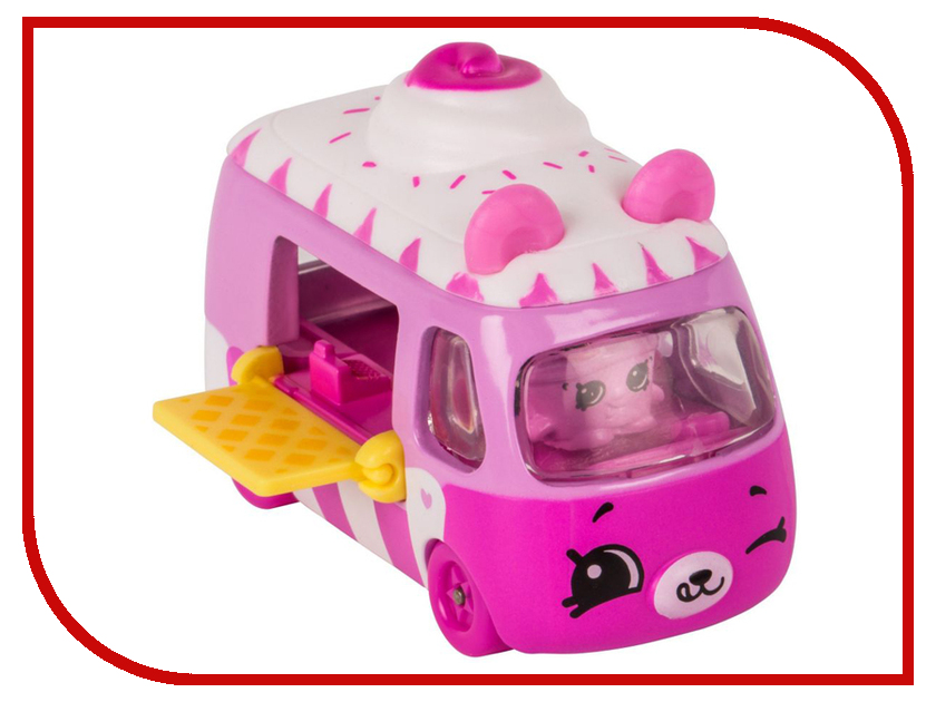 Игрушка Moose Shopkins Cutie Cars с фигуркой Ice Cream Dream Car 56588 home intelligent fully automatic american style coffee machine drip type small is grinding ice cream teapot one machine
