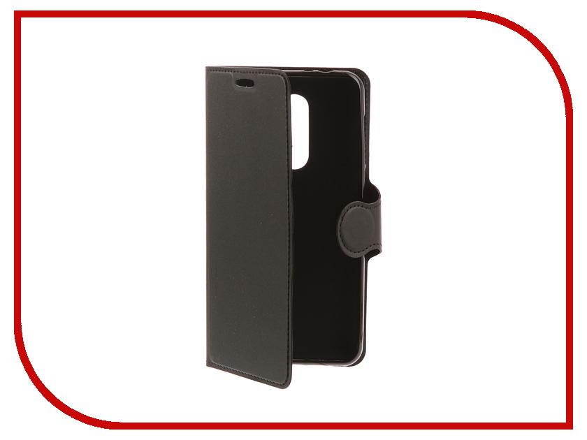 Аксессуар Чехол-книжка Alcatel 3X 5058I Red Line Book Type Black