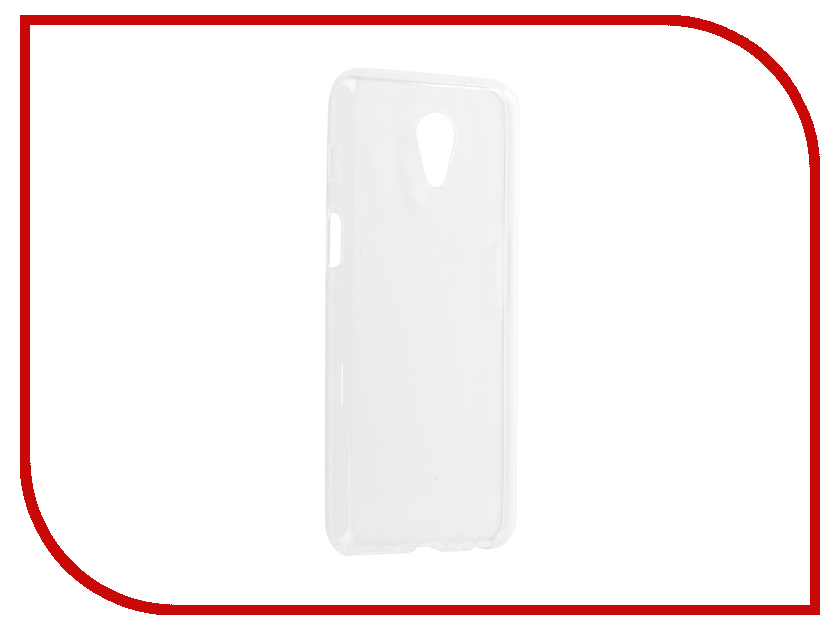 Аксессуар Чехол для Meizu M6s iBox Crystal Silicone Transparent аксессуар чехол для meizu m6s df silicone mzcase 22