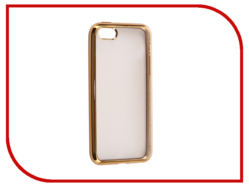 Аксессуар Чехол для APPLE iPhone 5 / 5S / SE iBox Blaze Silicone Gold Frame red line ibox crystal чехол для iphone 5 5s se clear