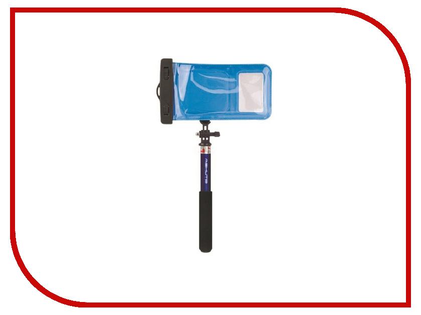 Штатив Ashutb Kit-S6WP Водонепроницаемый набор Selfie Stick + чехол Xplay Blue