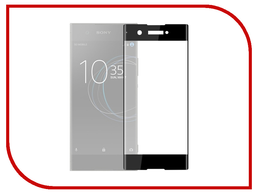 Аксессуар Защитное стекло для Sony Xperia XA1 Plus Red Line Full Screen 3D Tempered Glass Black УТ000015492 росмэн куча мала федорино горе к чуковский