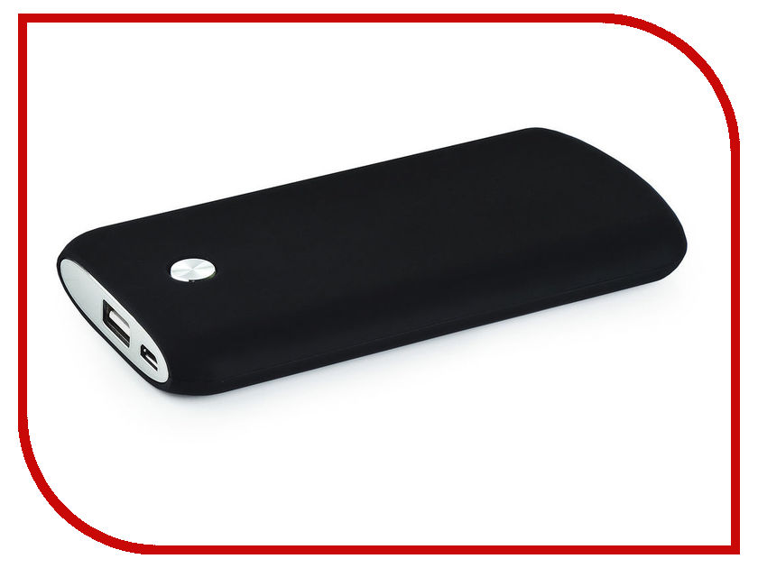 Аккумулятор Vorson Massive Soft Touch 10000mAh Black vorson ve 204 silver