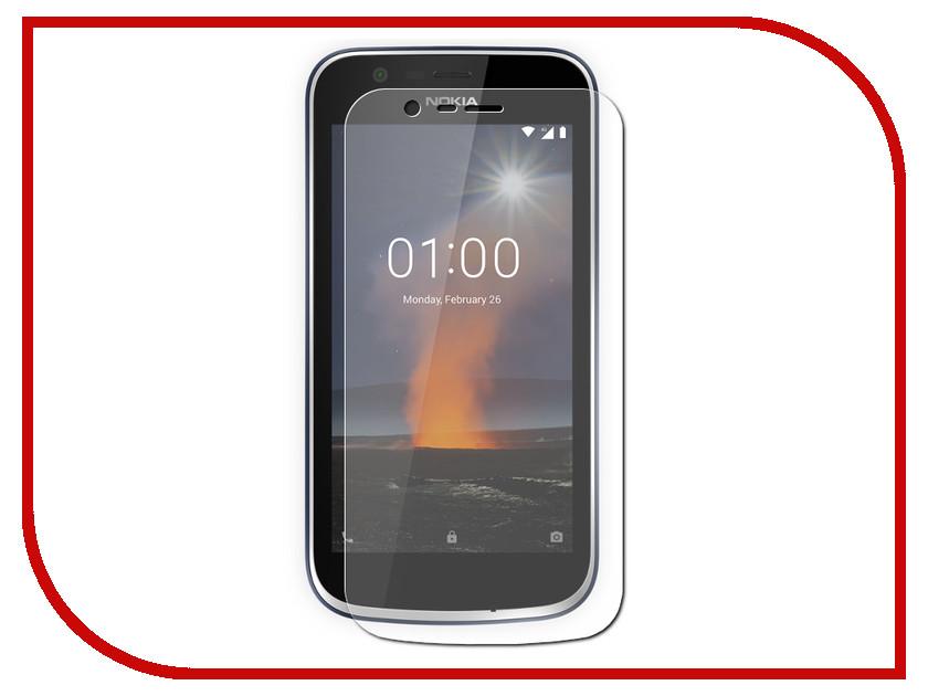 Аксессуар Защитное стекло Nokia 1 Red Line Tempered Glass