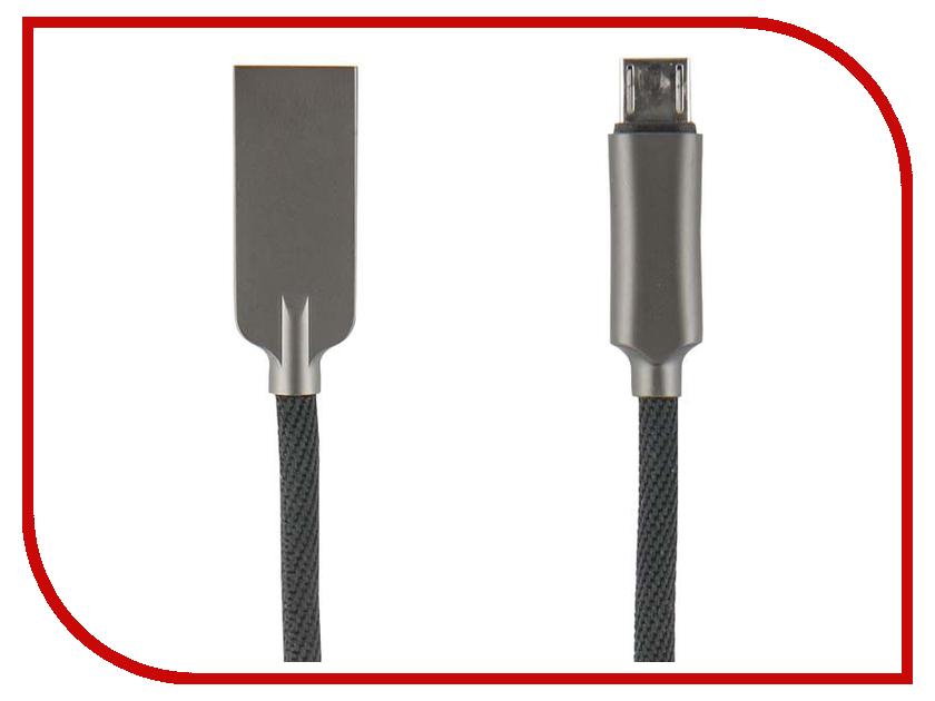 Аксессуар Red Line LX13 Zync Alloy USB - Micro USB Black УТ000014186 кабель red line lite usb – micro usb black