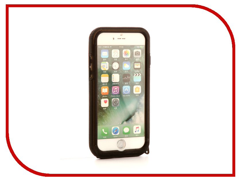Аксессуар Чехол-накладка Gurdini Waterproof Case для APPLE iPhone 7 White аксессуар чехол накладка smarterra marshmallow cover black для apple iphone 7 mmcip7bk