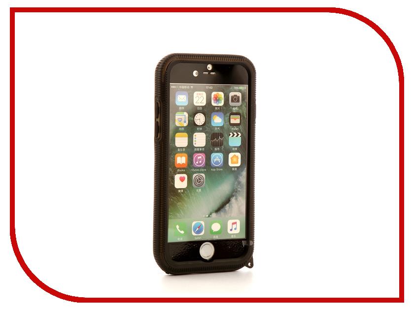 Аксессуар Чехол-накладка Gurdini Waterproof Case для APPLE iPhone 7 Black аксессуар чехол накладка smarterra marshmallow cover black для apple iphone 7 mmcip7bk
