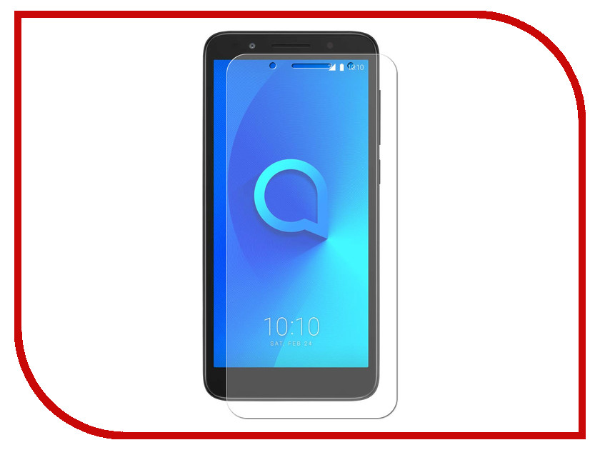 Аксессуар Защитное стекло для Alcatel 3 5052D Red Line Tempered Glass УТ000015047 free shipping 120mm 2pcs lot 1pc switch 1pc remote control glass touch switch panel 3 gang 1 way tempering glass