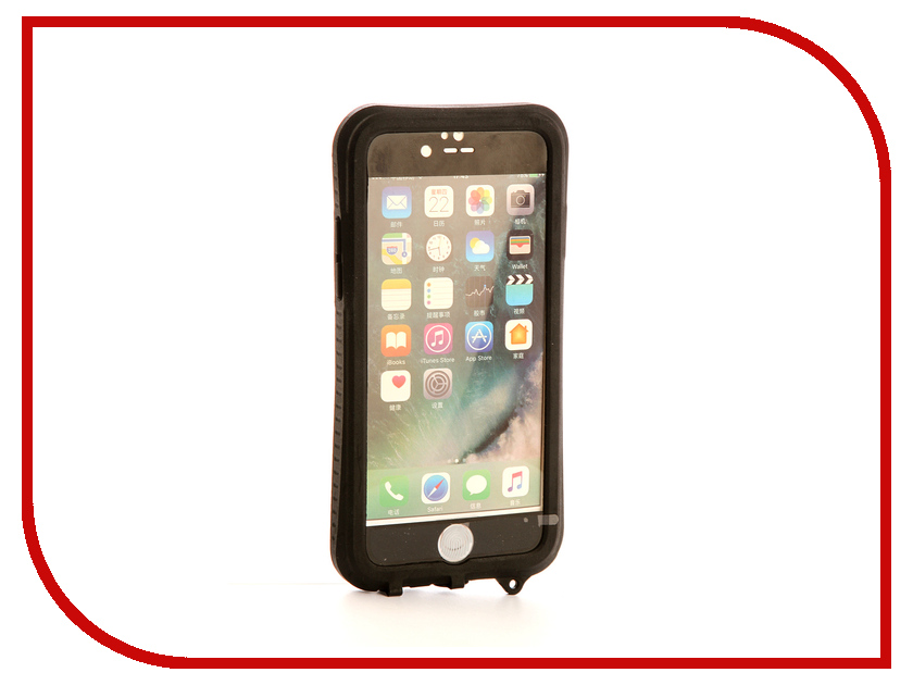 Аксессуар Чехол-накладка Gurdini Waterproof Case для APPLE iPhone 6 / 6S Black фотонабор olloclip studio для apple iphone 6 6s plus black oc 0000169 eu
