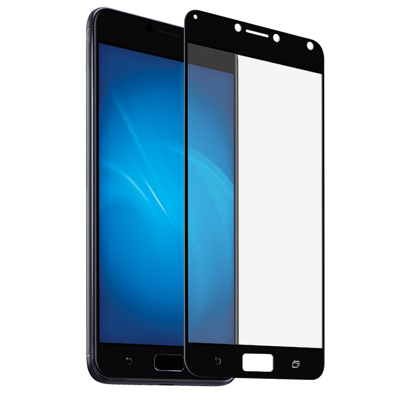 Аксессуар Защитное стекло Red Line для ASUS ZenFone 4 Max 5.5 ZC554KL Full Screen Tempered Glass Black УТ000014510 zc554kl 4a008ru