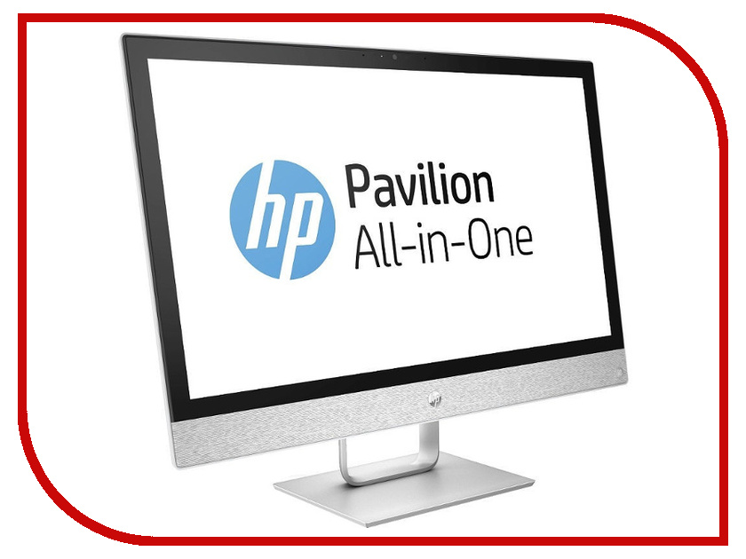 Моноблок HP Pavilion 24 24-r027ur 2MJ52EA (Intel Pentium G4560T 2.9 GHz/4096Mb/1000Gb/DVD-RW/Intel HD Graphics/Wi-Fi/24/1920x1080/DOS)
