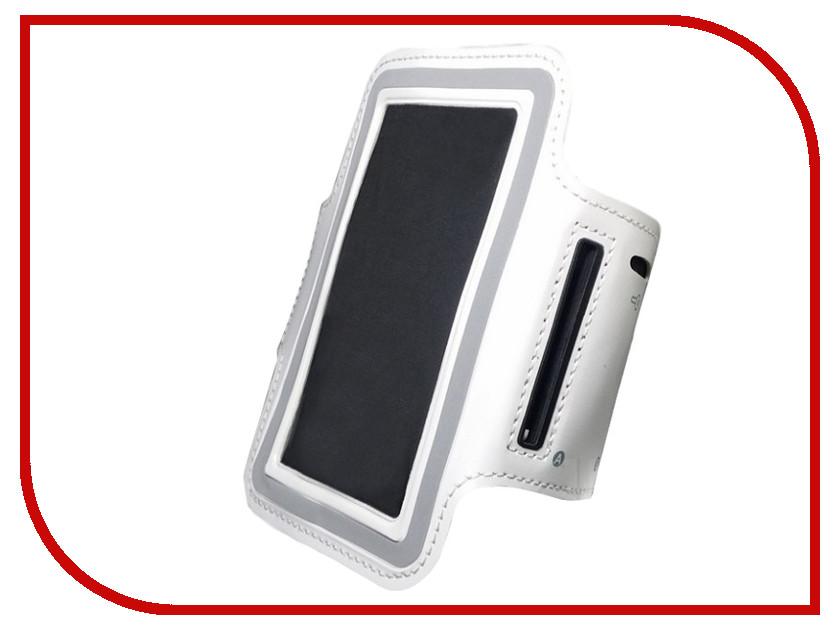 Чехол Gurdini Универсальный 5.5-inch Спортивный White 620449 аксессуар чехол 7 inch turbopad универсальный white