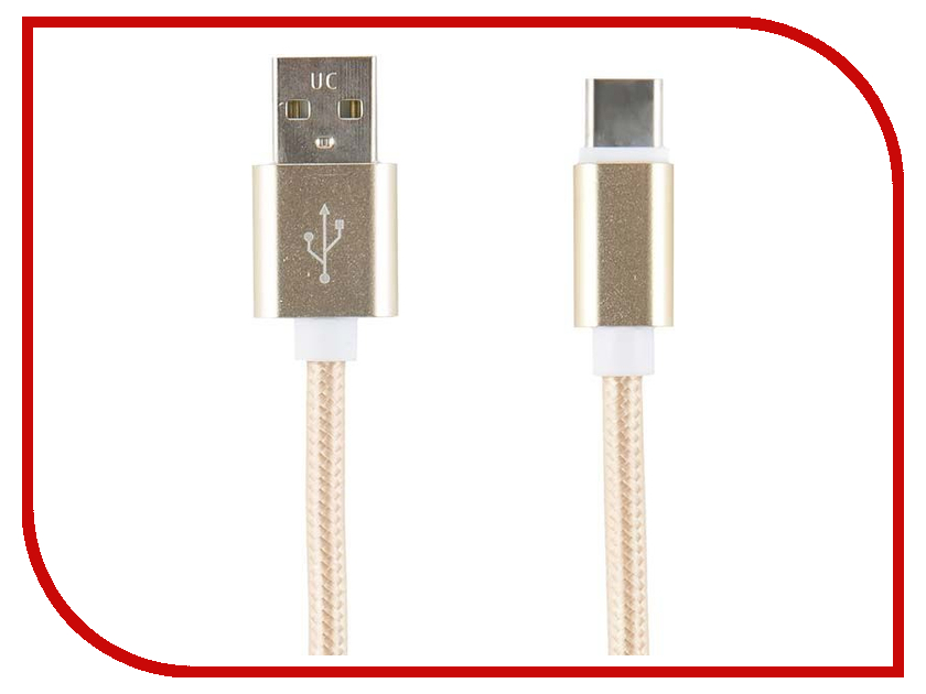 Аксессуар Red Line USB - Type-C Gold УТ000014158 часы nixon porter nylon gold white red