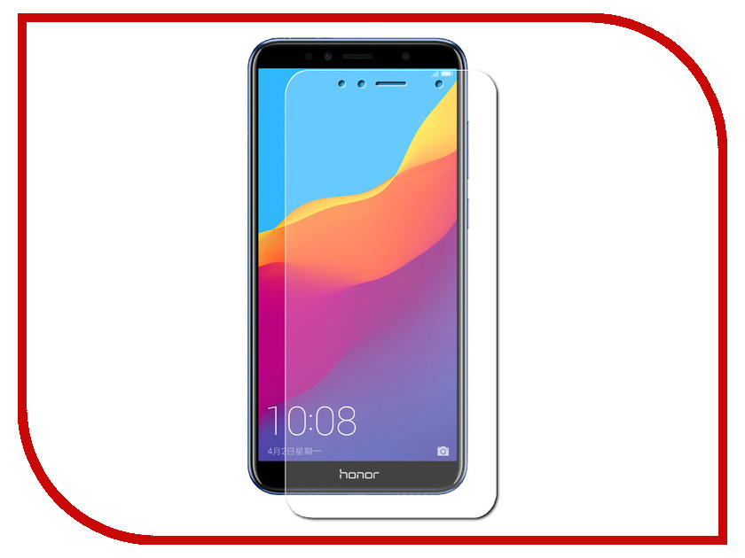 Аксессуар Защитное стекло для Huawei Honor 7A Red Line Tempered Glass 0.2mm УТ000014473 аксессуар защитное стекло для huawei honor 8 5 2 red line tempered glass ут000009305