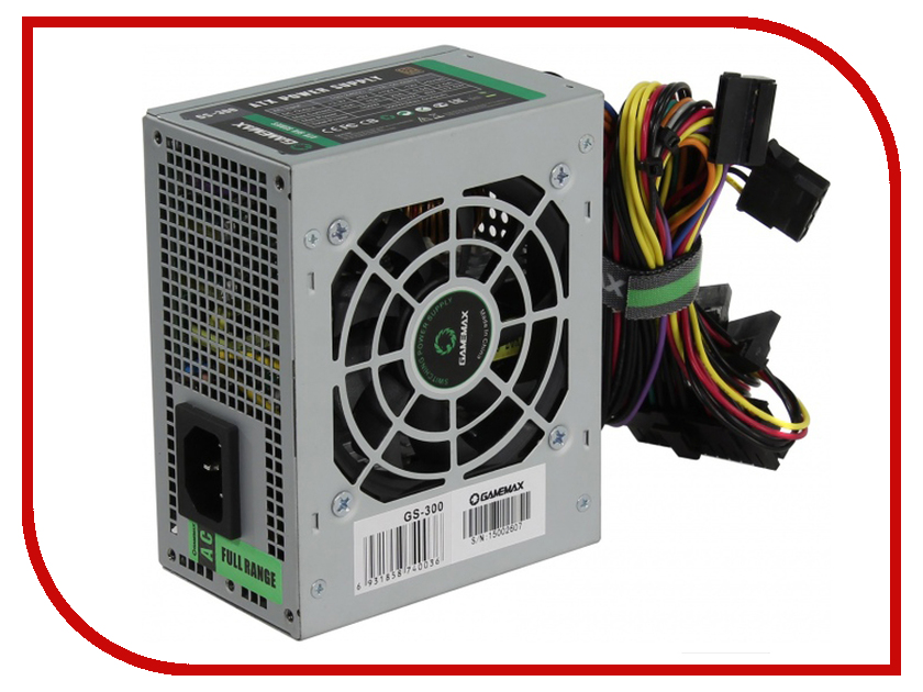 Блок питания GameMax GS-300 300W блок питания gamemax gm 500g 500w