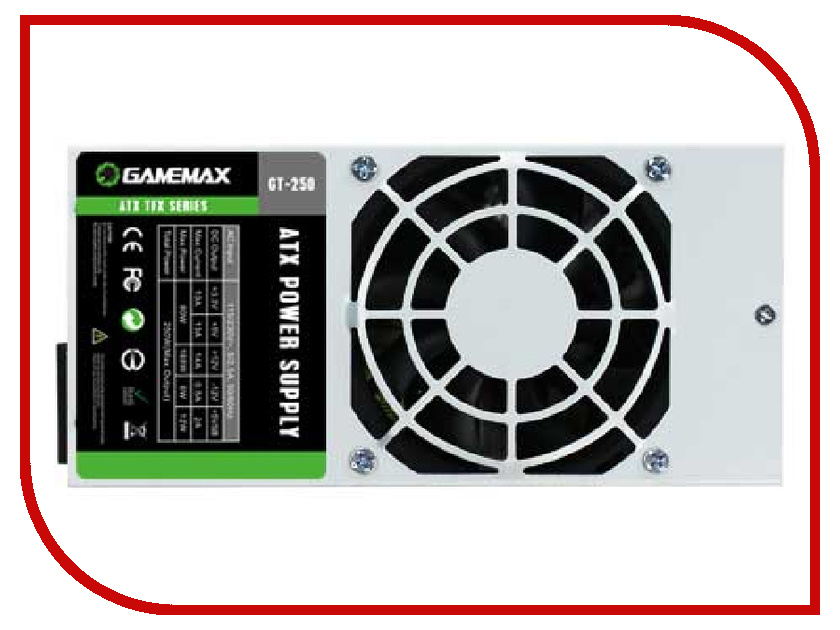 Блок питания GameMax GT-250 250W