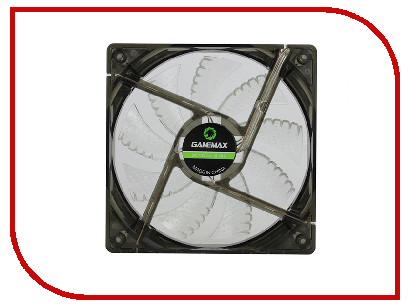Вентилятор GameMax GMX-WF12W 120mm вентилятор gamemax gmx af12r