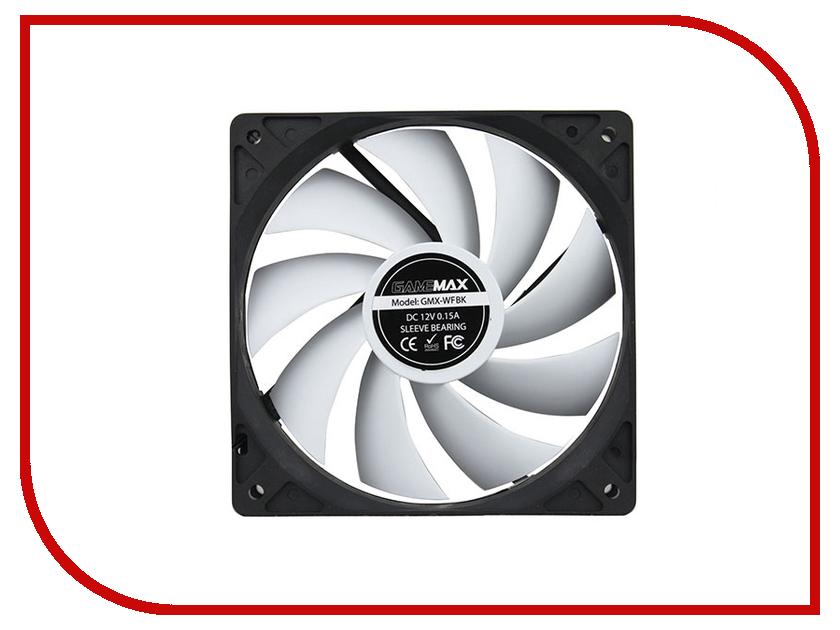 Вентилятор GameMax GMX-WFBK 120mm вентилятор gamemax gmx af12r