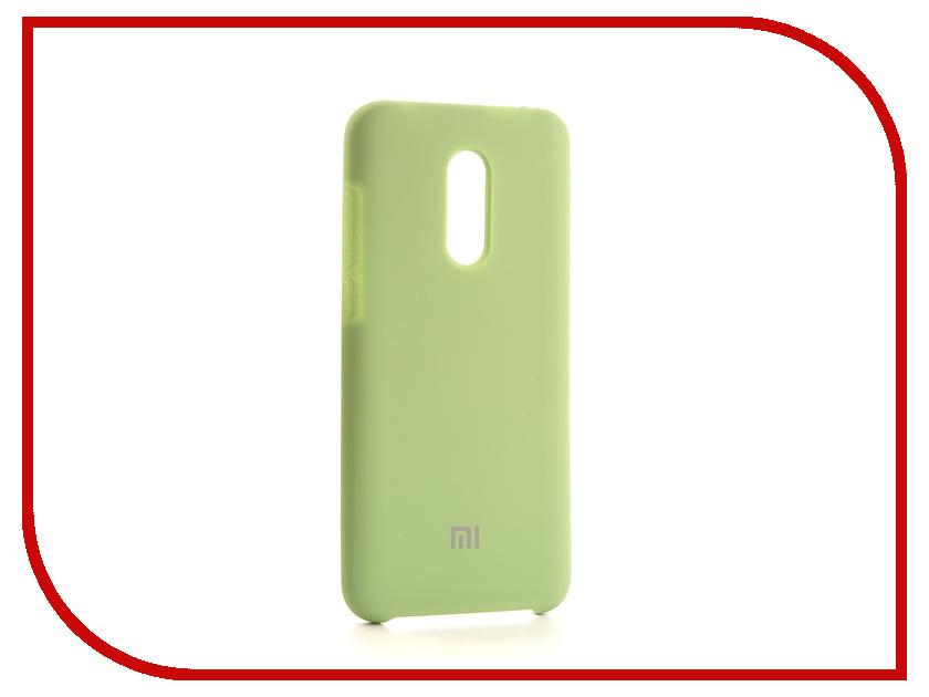 Аксессуар Чехол-накладка для Xiaomi Redmi 5 Plus Gurdini Silicone Cover Pistachio 905939