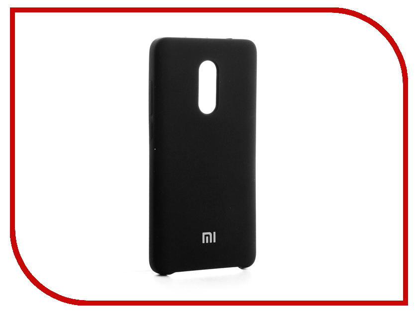 Аксессуар Чехол-накладка Xiaomi Redmi Note 4X Gurdini Silicone Cover Black global version xiaomi redmi 4x 3gb 32gb smartphone black