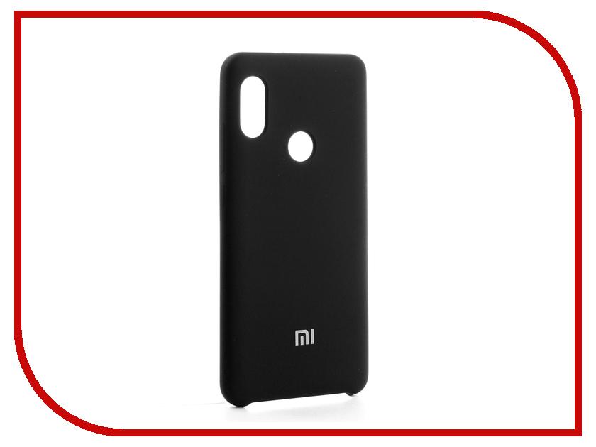 Аксессуар Чехол-накладка Xiaomi Redmi Note 5 Pro Gurdini Silicone Cover Black аксессуар чехол бампер xiaomi redmi pro white