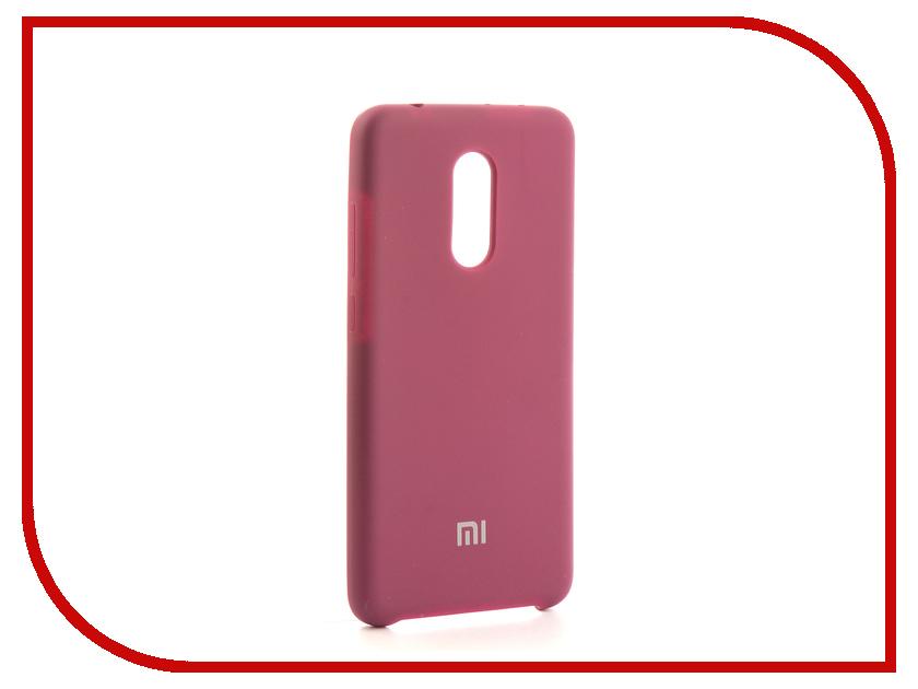 Аксессуар Чехол-накладка Xiaomi Redmi 5 Gurdini Silicone Cover Violet аксессуар чехол накладка micromax canvas viva a106 activ silicone black mat 46857