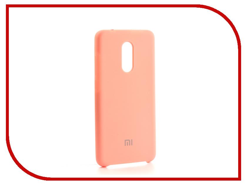 Аксессуар Чехол-накладка Xiaomi Redmi 5 Gurdini Silicone Cover Pink аксессуар чехол накладка micromax canvas viva a106 activ silicone black mat 46857