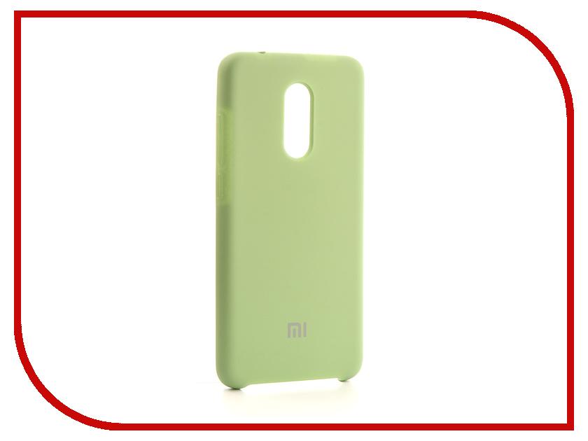 Аксессуар Чехол-накладка Xiaomi Redmi 5 Gurdini Silicone Cover Pistachio аксессуар чехол накладка micromax canvas viva a106 activ silicone black mat 46857