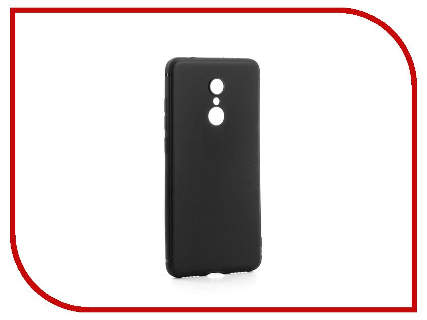 Аксессуар Чехол-накладка Xiaomi Redmi 5 Gurdini High-tech Silicone Matt Black аксессуар чехол накладка xiaomi redmi note 5 pro gurdini silicone cover black