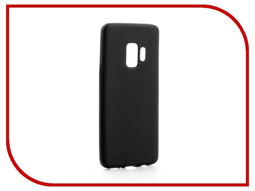 Аксессуар Чехол-накладка для Samsung Galaxy S9 Gurdini High-tech Silicone Matt Black аксессуар чехол накладка micromax canvas viva a106 activ silicone black mat 46857