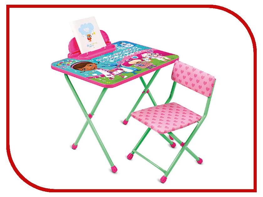 Набор детской мебели Nika Д1П/ДП Disney 1 Доктор Плюшева disney disney игрушка лэмми 20 см доктор плюшева
