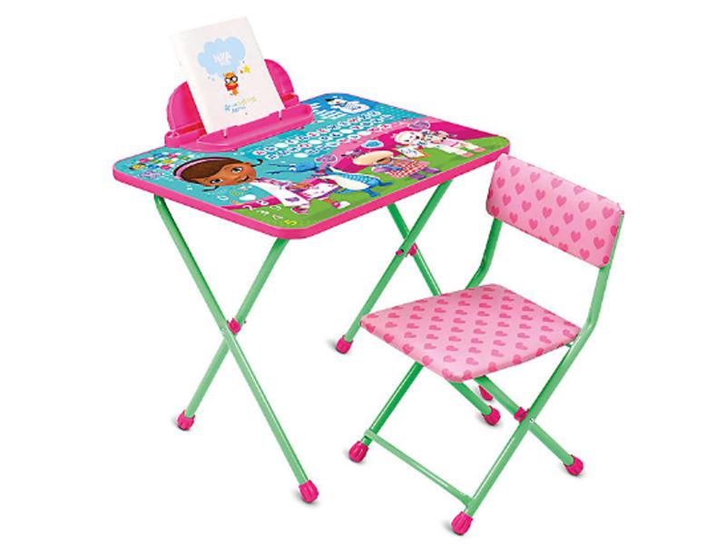 Набор детской мебели Nika Д1П/ДП Disney 1 Доктор Плюшева