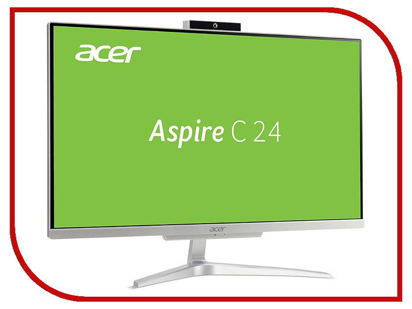 Моноблок Acer Aspire C24-860 DQ.BABER.003 (Intel Core i5-7200U 2.5 GHz/8192Mb/1000Gb/Intel HD Graphics/Wi-Fi/23.8/1920x1080/Windows 10 64-bit) ноутбук acer predator triton 700 pt715 51 78su 15 6 1920x1080 intel core i7 7700hq nh q2ker 003