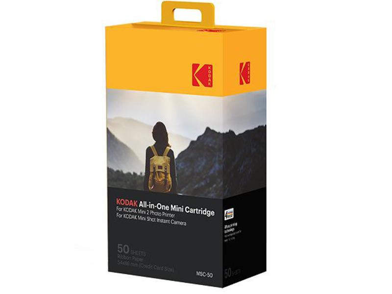 Фотобумага Kodak 54x87mm 50 листов для Mini Shot/Mini 2