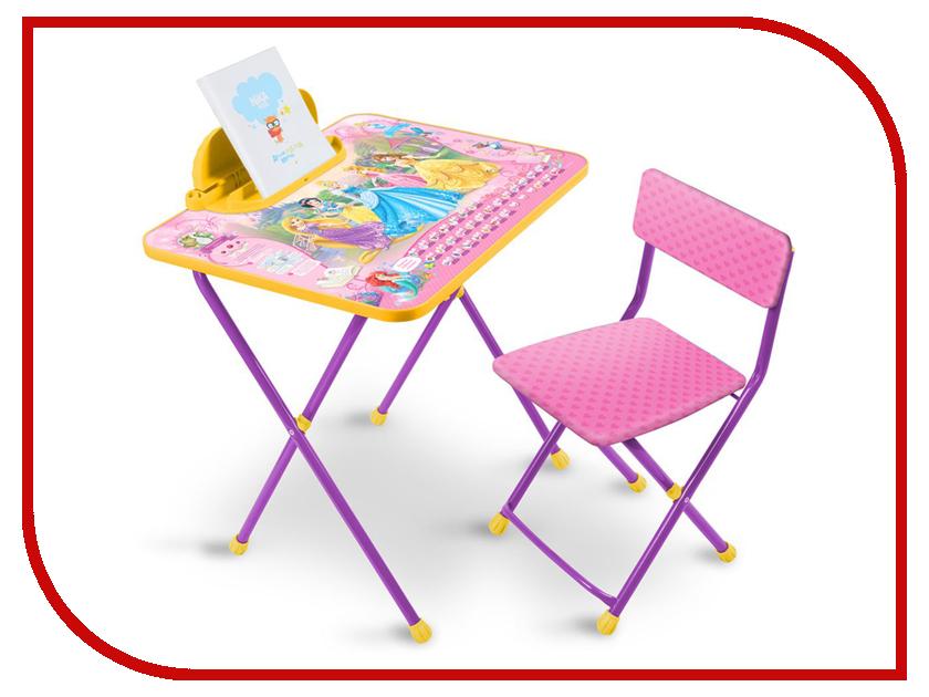 Набор детской мебели Nika Д2П Disney 2 Принцесса Disney
