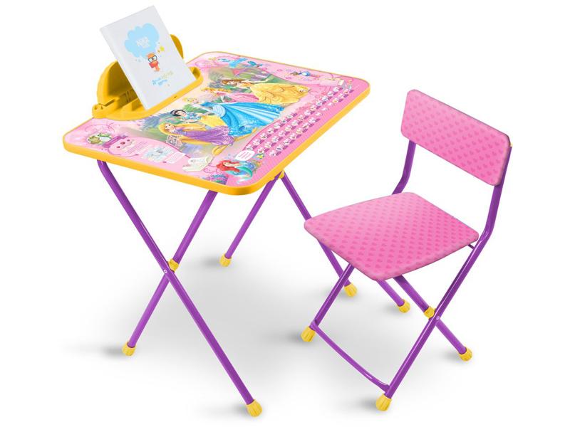 Набор детской мебели Nika Д2П Disney 2 Принцесса Disney набор мебели для детской мика 2