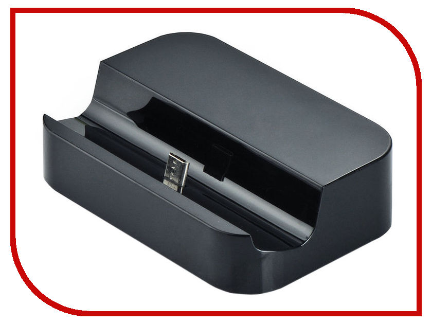 Аксессуар Gurdini Док станция Samsung Micro Black 390003 samsung ee d3000 black док станция