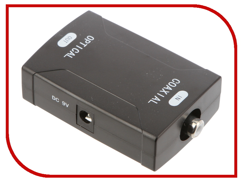 Цифровой конвертер Palmexx Coaxial to Optical Converter PX/AYA-CTOO dp tca01 optical fiber to coaxial audio converter dac decoder hifi5 1 digital audio converter
