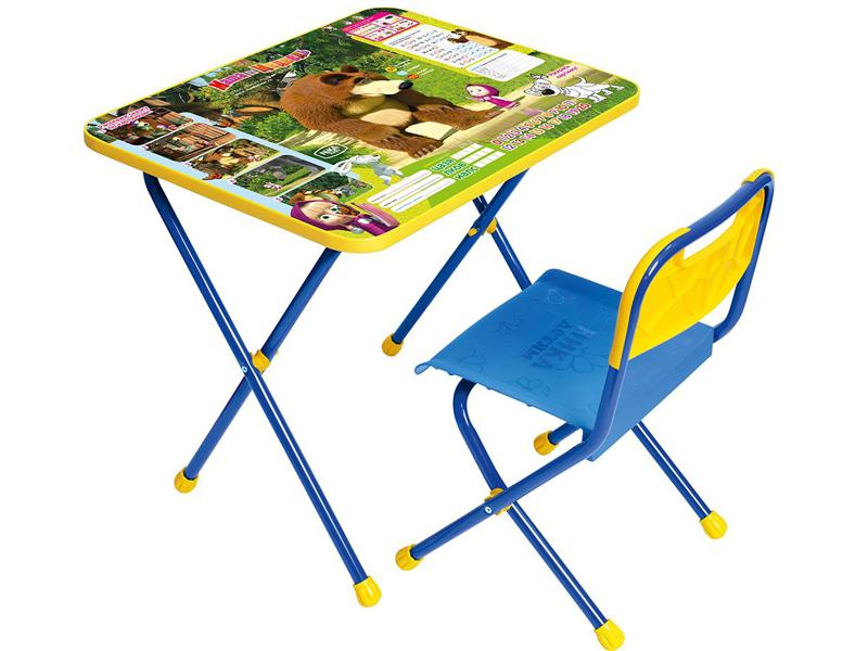 Набор детской мебели Nika КП/6 Маша и медведь Позвони мне