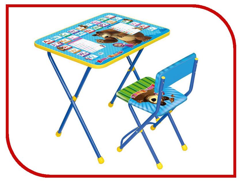 Набор детской мебели Nika Маша и медведь Англ азбука КП2/4 игра nika познайка маленькая принцесса кп2 17
