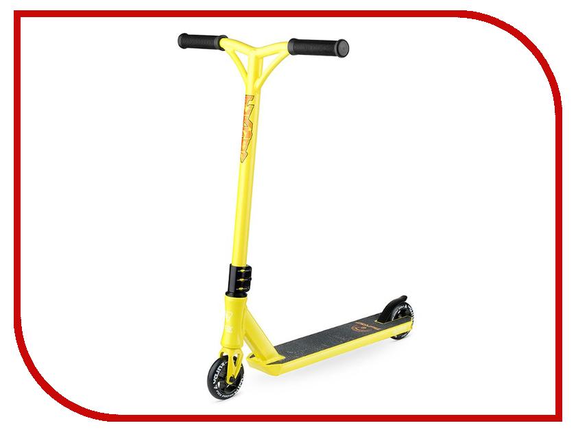 Самокат Fox Pro Turbo Comb Yellow самокат mgp vx5 pro model yellow