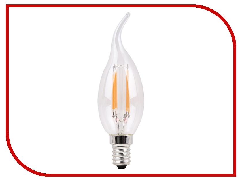 Лампочка Sparkled Filament E14 CA35 4W 200-240V PF0.8 2700K LLF35-4E-27-T