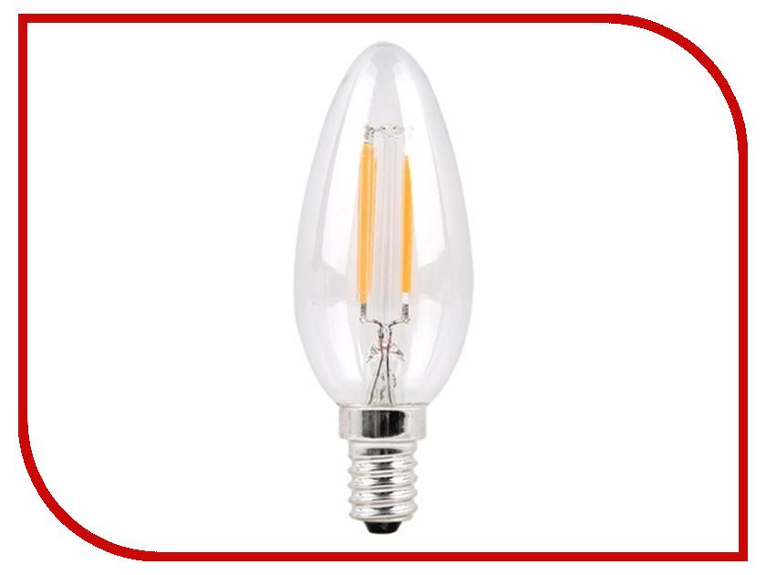 Лампочка Sparkled Filament C37 E14 6W 200-240V PF0.8 2700K LLF35-6E-27