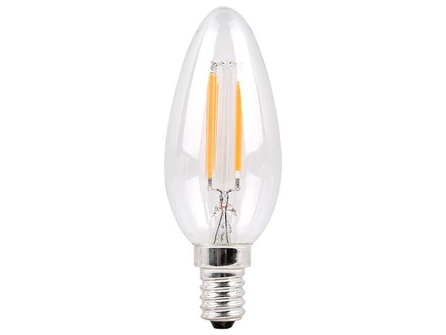 цена на Лампочка Sparkled Filament C37 E14 6W 200-240V 2700K 600Lm LLF35-6E-27
