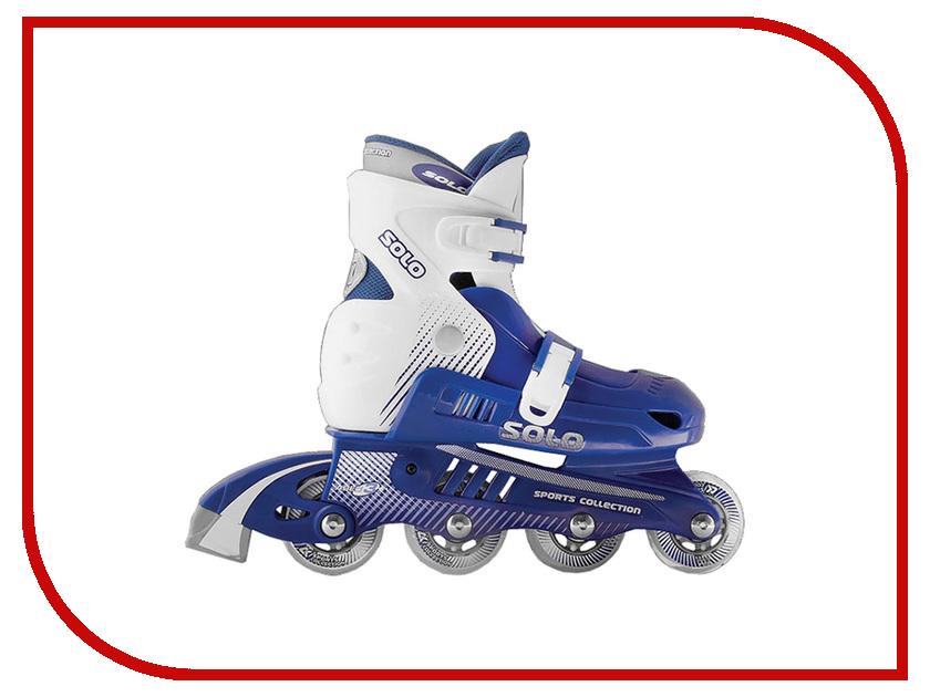 Коньки Спортивная Коллекция Solo р.35-38 Blue коньки onlitop abec 7 223f р 29 32 blue 1131909