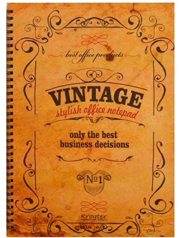 Бизнес-тетрадь Kroyter A4 100 листов 375804