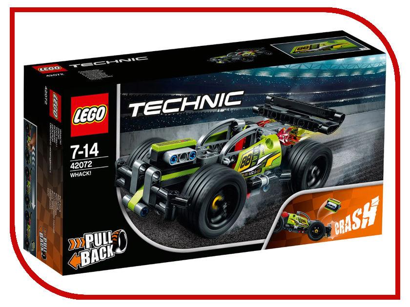 Конструктор Lego Technic Зелёный Гоночный Автомобиль 42072