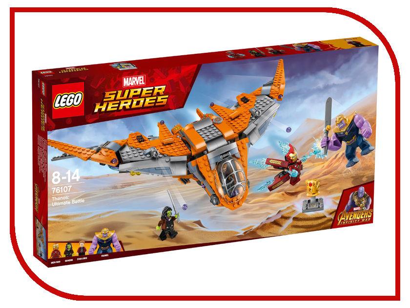 Конструктор Lego Super Heroes Танос:Последняя битва 76107 конструктор lego super heroes битва за атлантиду 76085 l